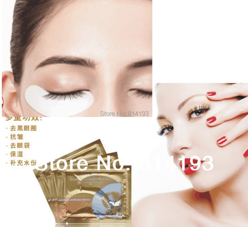 2017 2018 50 Pair Under Eye Pad mask Patch Lint Eyelash Lash Extension Tool Supply Medical Tape Crystal Eyelid Patch
