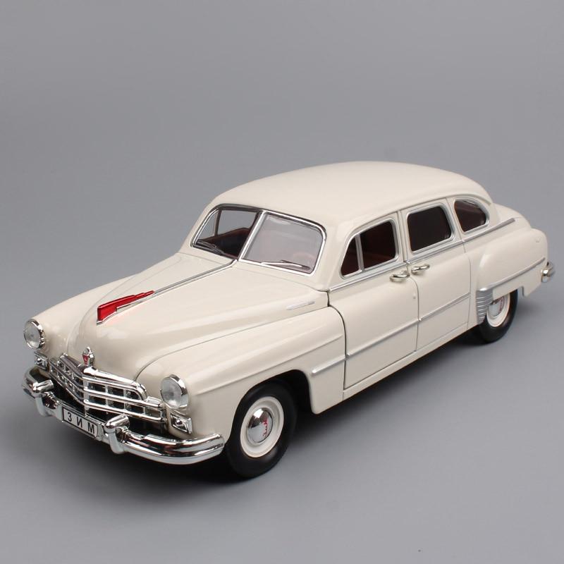 1/24 Échelle de luxe Russie Sovietique URSS vintage vieux Gorki GAZ-12 ZIM GAZ 12 limousine Volga moulé sous pression et véhicules modèle voitures jouets enfants