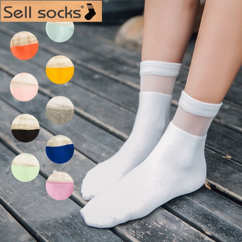 Clearance! Kasi New Korea Candy-colored Stitching Cotton Sock Japanese Socks Women Socks Size35-40 A065