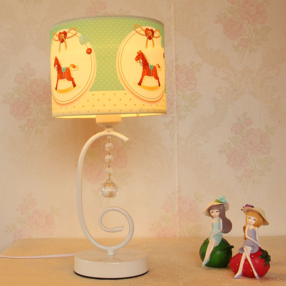 Lights Desk LED Mini Touch Switch Lamp Table Luminaria Contemporary Cloth Cute Reading Table Lamps Switch Button read room led lamp e27 table lamps study mini touch switch 110 220v contemporary green cloth desk lights luminaria