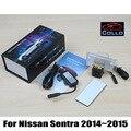 Para Nissan Sentra 2014 ~ 2015/Alarma de Advertencia de La Lámpara Faros Antiniebla Láser/Trasera Anti-Colisión Trasera Auto accesorios de Luces de Niebla