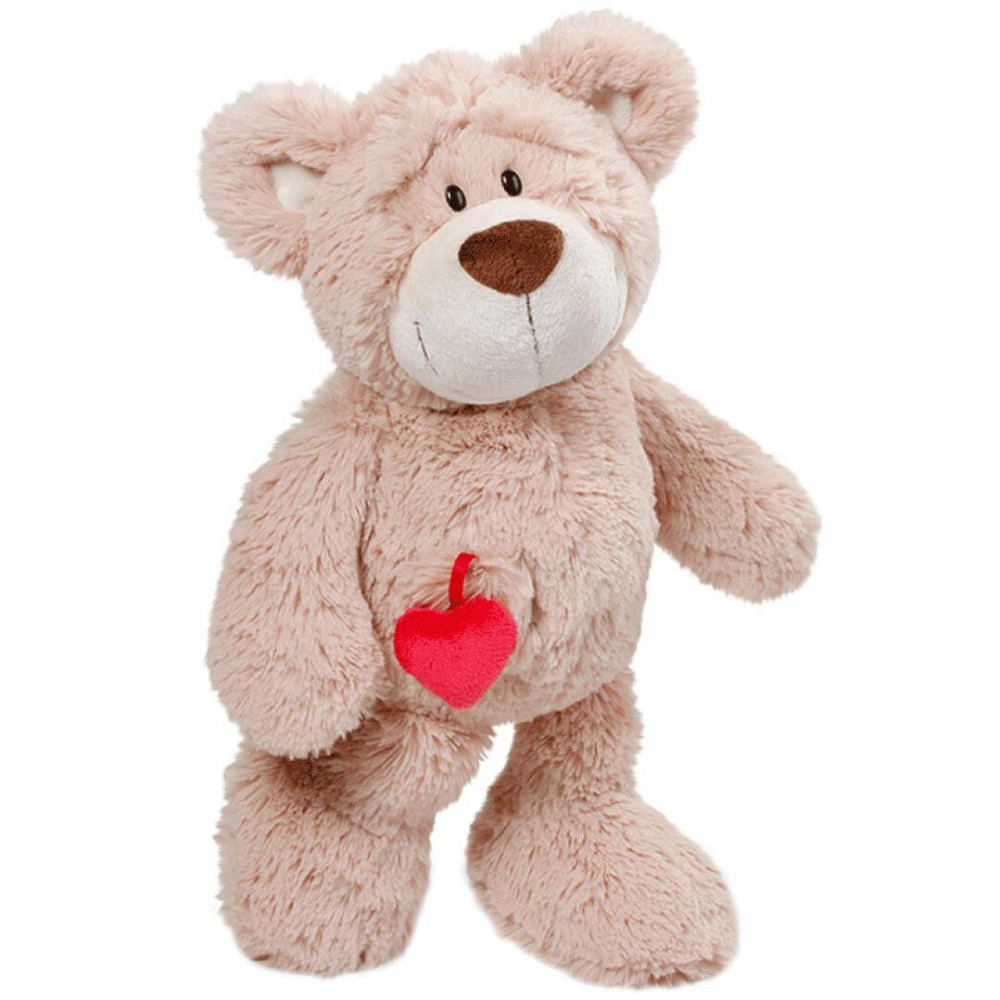 candice guo! New super cute plush toy Nici happy heart bear love doll stuffed toy creative lover birthday Christmas gift 1pc 8pcs 9x12w with flightcase dj disco lighting par led rgbw stage par light dmx controller party disco bar strobe dimming effect