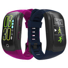 RUIJIE S908 Plus Color Screen GPS Fitness Smart Bracelet IP68 Waterproof Activity Tracker Heart Rate Monitor Smart Band S908S s908 gps smart band fitness smart wristband heart rate ip68 waterproof bracelet tracker smartband watch