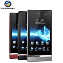Мобильный телефон Sony Xperia P LT22i, 4,0 дюймов, двухъядерный, 1 ГБ ОЗУ, 16 Гб ПЗУ, 8МП камера, разблокированный, lt22, сотовый телефон