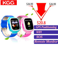Q90 GPS Kid Smart Watch Baby Anti-lost Watch with Wifi Touch Screen SOS Call Location Device Tracker for Children Safe Monitor(China)