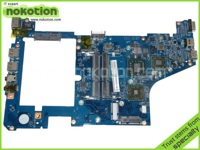 Laptopmother para Acer Aspire One 721 serie MBSBB01006 Mainboard 48.4 HX01.031 AMD RS880M placa madre integrada DDR3