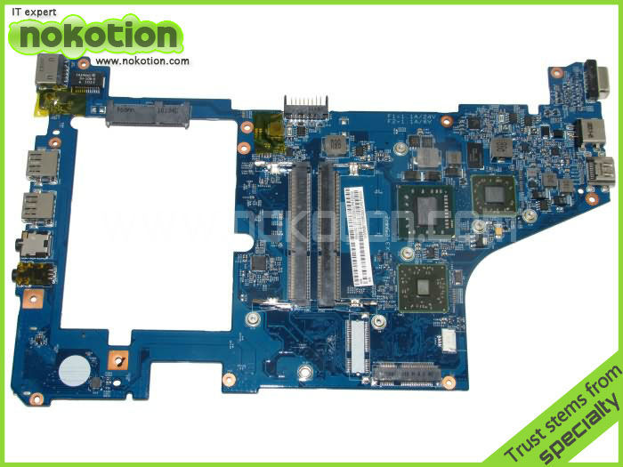 NOKOTION Laptopmother for Acer Aspire One 721 Series MBSBB01006 Mainboard 48.4HX01.031 RS880M Mother Board DDR3 battery for acer timelinex 1830t aspire one 721 753 721 3070 al10c31 al10d56