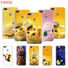 Pikachue Movie Printing Protect Phone Case For Huawei Honor 8X 20 9 10 lite 8A Pro 10i 20i 8S V20 Y5 Y6 Y7 Y9 2019 Prime Cover