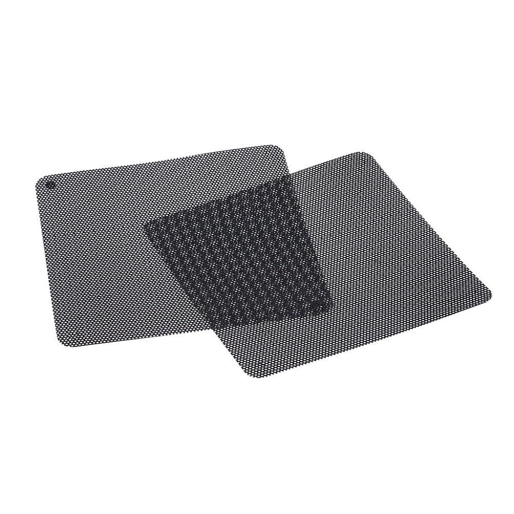 3//5pcs Cuttable PVC PC Fan Dust Filter Dustproof Case Computer Mesh 80//120//140mm