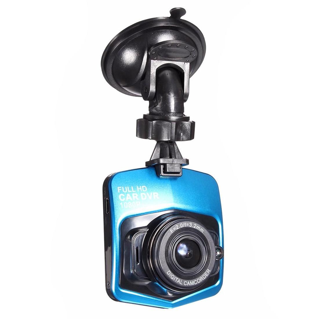 2 4 Full HD 1080P 12MP angulo Ancho Coche DVR Camara Video Grabadora Dash Cam Black