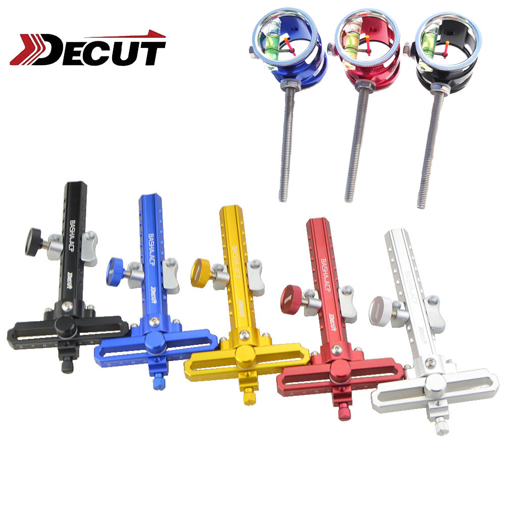 4x 6x 8x Scope Lens Archery Compound Bow Sight Pins BASHA ACP Compound Bow Hunting Accessories