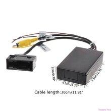 Автомобильная резервная камера заднего вида RGB к AV Коробка адаптера конвертера для Фольксваген Новый