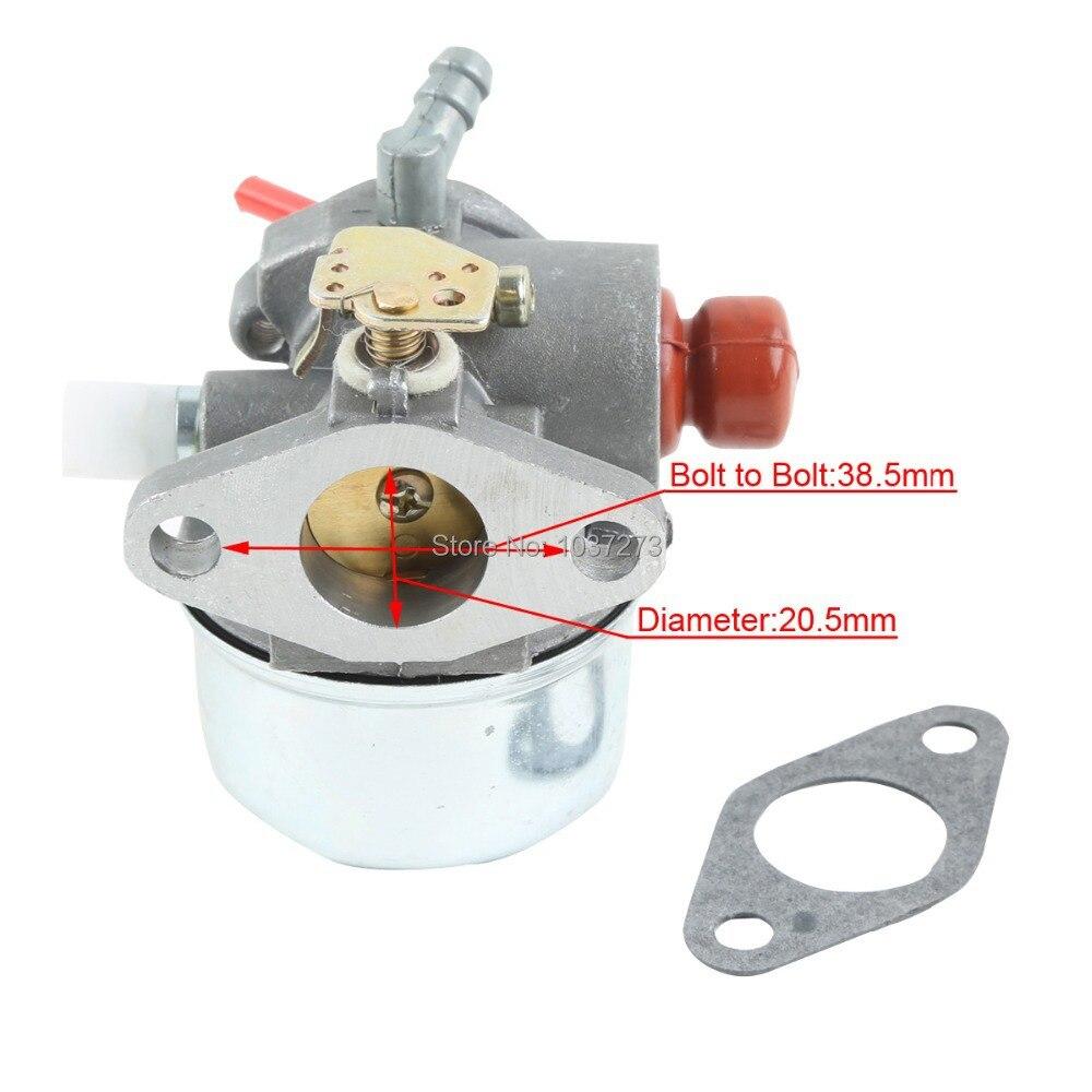 Carburetor For Tecumseh Toro Recycler Mowers 6 75 Hp
