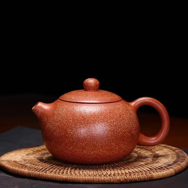 225ml Genuine Dragon Blood Sand Xi Shi Purple Clay Teapot Wholesale Yixing Zisha Tea Pot Pure Handmade Hot Sale Free Shipping