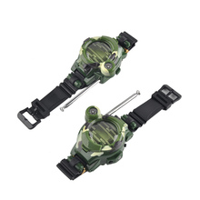 2Pcs/set Toys Walkie Talkie Watch Style Outdoor Interphone For Kids Children Play Game Electric Strong Range Clock Birthday Gift