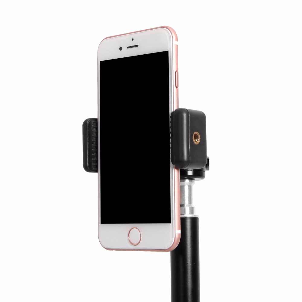 Universal Smartphone Holder Clip Mount Bracket Stands Selfie Stick For Tripod E-type Extendable Holder (4)