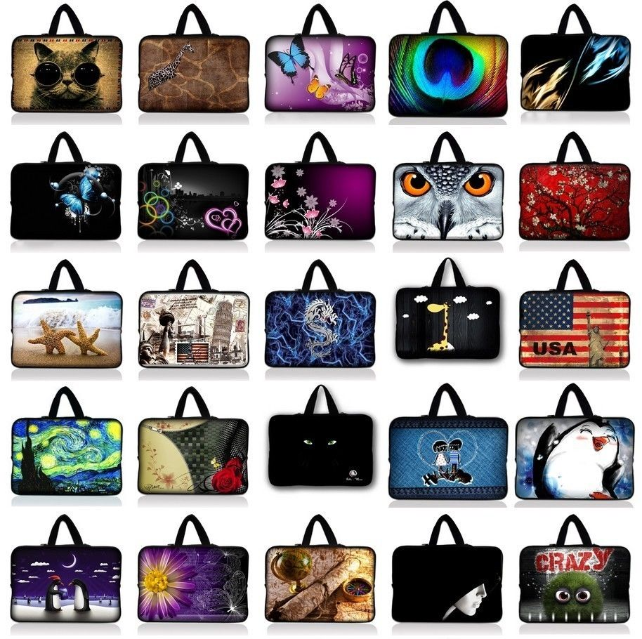 7.9 9.7 10.1 11.6 13.3 14 15.4 15.6 Waterproof Laptop Sleeve Bag Protective Zipper Notebook Case Computer Cover For Dell Asus