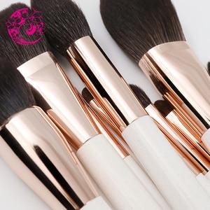 Image 4 - אנרגיה מותג גבוהה QualitiyHair מברשת איפור מברשות מברשת Brochas Maquillaje Pinceaux Maquillage Pincel bzy