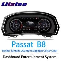 LiisLee инструмент Панель Замена приборной панели развлечения интеллектуальные Системы для Volkswagen Passat B8 Dasher Сантана Quantum