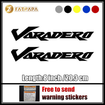 motorcycle bike Fuel tank Wheels Fairing notebook Luggage helmet MOTO Sticker decals For Honda Varadero 125 1000 XL1000 image