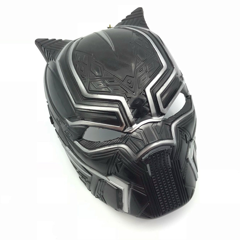 Halloween Helmet Captain America 3 Civil War Black Panther Mask Superhero Anime Movie Surroundings Cos Masks image