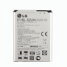 Original BL-52UH Battery for LG Spirit H422 D280N D285 D320 D325 DUAL SIM H443 Escape 2 VS876 L65 L70 MS323 2040mAh