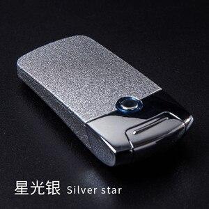 Image 1 - 強力な USB ライター充電式電子ライターアイアンマンマーベルタバコプラズマシガーアーク Palse 雷ライターパルス