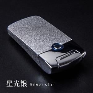 Image 1 - עוצמה USB אלקטרונית נטענת מצית ברזל איש מארוול סיגריות פלזמה סיגר קשת Palse רעם מצית דופק