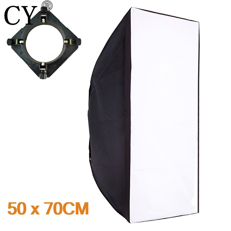 50x70cm Softbox Reflector+Universal Mount for Studio Flash Photo Studio Soft Box Photography Accesorios Fotografia Light Box