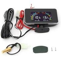 Water Temp Temperature DC 9-36V Car LCD Digital Display Voltmeter Meter Gauge -40~85C for Car Motor Supplies