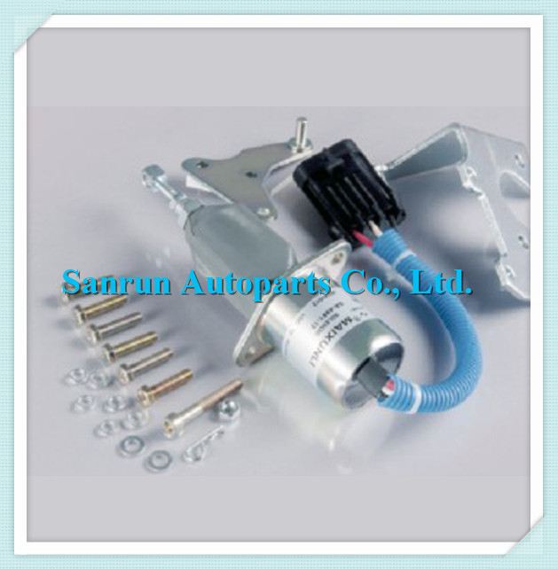 FUEL SHUT OFF SOLENOID 94-98 Pickup Truck DIESEL 5.9L 3800723 / SA-4981-12,12V 63a 5pin novel industrial hide direct socket connector sfn 3352 concealed installation socket 3p n e cable connector ip67
