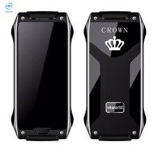 Vkworld корона v8 мобильный телефон 1.63 дюймов oled экран dual sim GSM 2 Г Мобильного Телефона ИК blaster Металлический Каркас 4.9 мм Тонкий Bluetooth FM