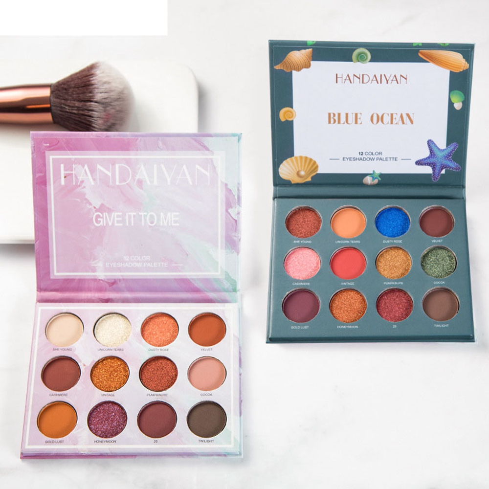 18 Colors Eyeshadow Beauty Glazed Glitter Eye Palette Maquiagem Matte Silky Maquiagem Profissional Completa Kit Pincel #68 New Varieties Are Introduced One After Another Back To Search Resultsbeauty & Health Beauty Essentials