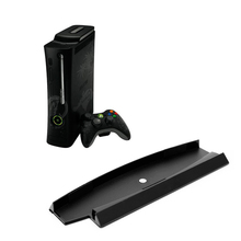 OOTDTY  Vertical Stand Holder Hold Dock Base For Playstation PS3 Slim Console 26*8.8cm compact vertical stand holder for ps3 slim black