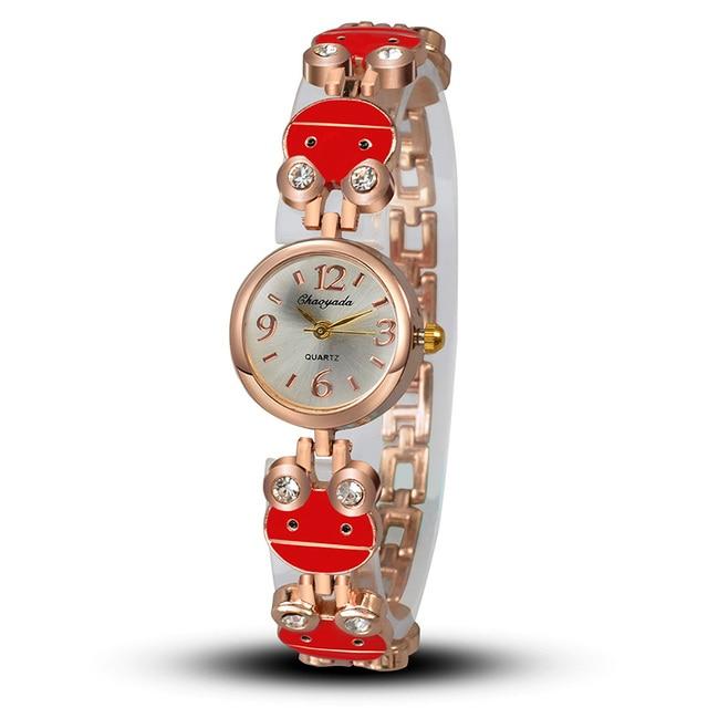 2018 New Fashion Slim Women Bracelet watches Lady Luxury Brand new Quartz wristw