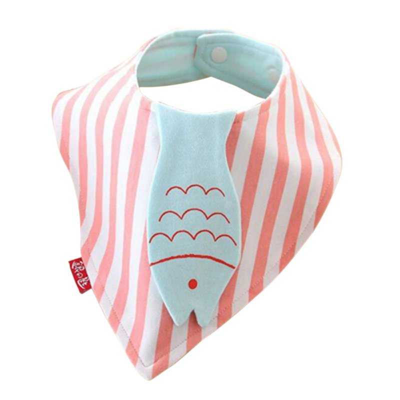 Baby Burp Bandana Bibs Cotton Soft Kids Toddler Triangle Scarf Bib Cool Accessories