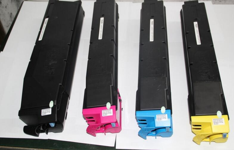 2017 compatible color toner cartridge laser cartridge tk-8308 for kyocera 3050ci3550ci3051ci3551 copier toner kit KCMY 4pcs