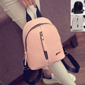 Women Crocodile Grain Small Backpack Faux Leather Shoulder Bag Charming Backpack Rucksack Small Leather Backpack Casual Backpack