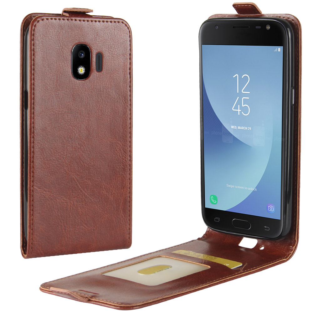 UP Down Flip Case for <font><b>Samsung</b></font> <font><b>Galaxy</b></font> <font><b>J2</b></font> <font><b>2018</b></font> Cover Vertical Flip Leather Case for <font><b>Samsung</b></font> <font><b>J2</b></font> <font><b>2018</b></font> <font><b>SM</b></font>-<font><b>J250F</b></font> J250 <font><b>J250F</b></font> Phone Bag image