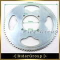 Pocket Bike 25H Rear Chain Sprocket 54mm 80 Tooth For 2 Stroke 47cc 49cc Engine Chinese Mini ATV Quad 4 Wheeler Scooter Goped