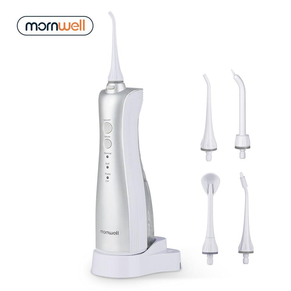 Oral regantes adultos eléctrico portátil irrigador Oral agua Flosser inductivo recargable Dental Water Flosser dientes
