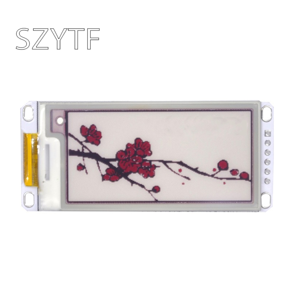 2.13 Inch Black And White Color Ink Screen SPI Shelf Label  Electronic Paper Screen Module