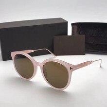 Autênticos óculos de sol da marca TF642 deusa rosa óculos de sol óculos de lentes de sol óculos de sol para as mulheres holbrook oculos masculino