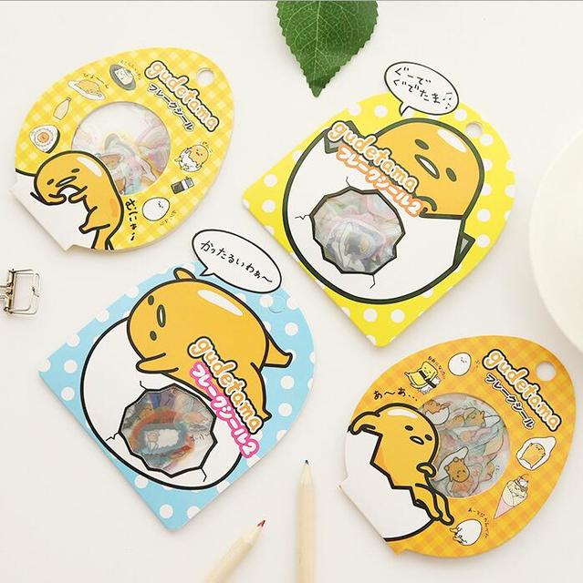 24 pack lot sanrio gudetama lazy egg sealing stickers diary label