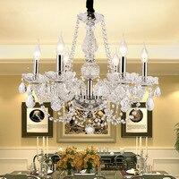 Современные Люстры K9 Ясно люстры Para кварто Спальня гостиной Кухня столовая Свадебные украшения люстра лампа