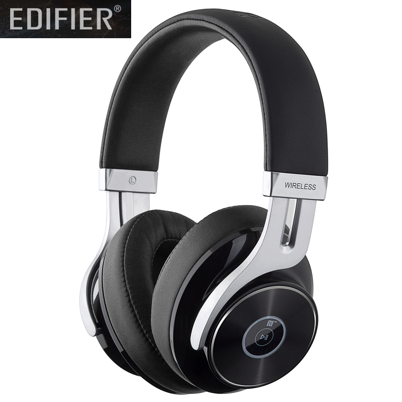 Edifier W855BT Bluetooth Headphones - Over-Ear Stereo Wireless Headphone with Microphone and Volume ControlEdifier W855BT Bluetooth Headphones - Over-Ear Stereo Wireless Headphone with Microphone and Volume Control