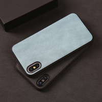 10PS Low price Phone Cases For iPhone X Xs Max Cover PU Leather Frabic Texture TPU Silicone Case For iPhone 6 6S 7 8 Plus Shell