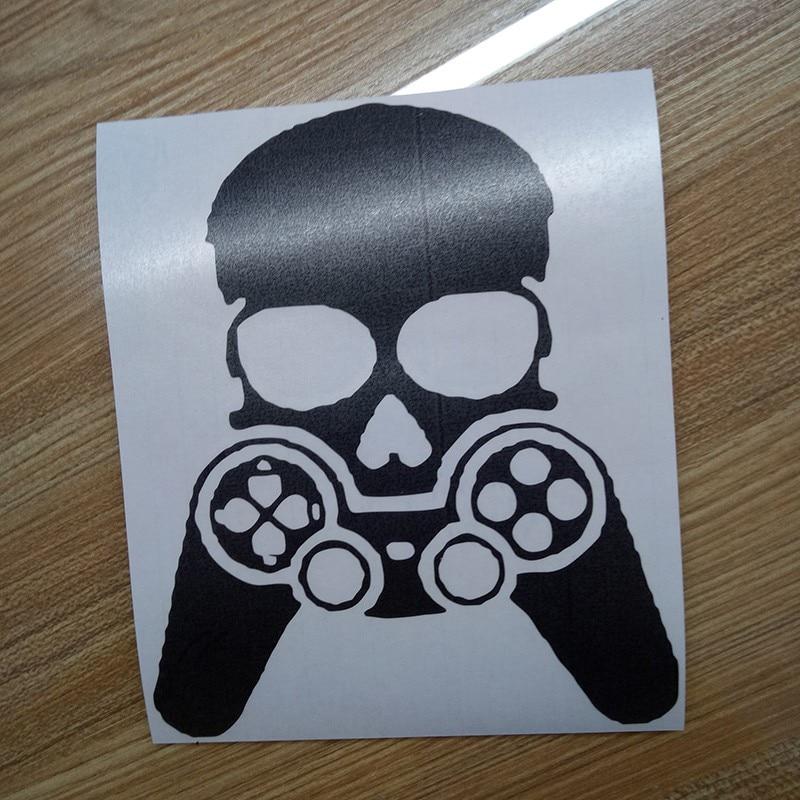 Gamer Face Car Bumper Sticker Funny Drift Jdm Vinyl Decal