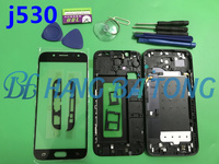 NEW Original Full Housing Case Back Cover+Front Screen Glass Lens+Tools For Samsung Galaxy J5 2017 J530 J530F Complete Parts