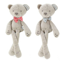 Bebê presente promoção brinquedo bonito do bebê crianças urso animal dormir conforto boneca brinquedo de pelúcia macio recheado apaziguar coelho brinquedo